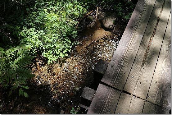 龍王峡の湧き水