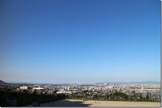 生松台中央公園からの展望