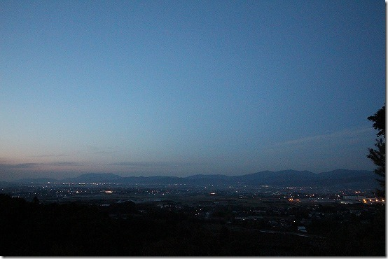 みのう山荘からの絶景