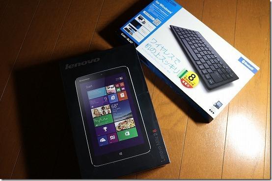 2万円台のWindows8.1 タブレット miix 2 8