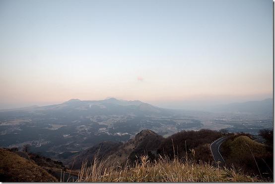 俵山の展望台から阿蘇