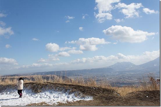 冬の阿蘇・久住旅 阿蘇 大観峰