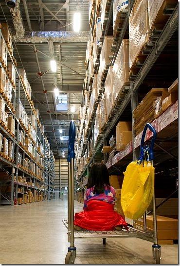 IKEA セルフで商品選び