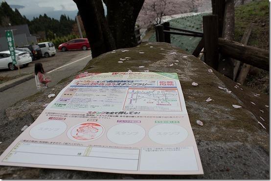 南阿蘇 3つの桜物語スタンプラリー
