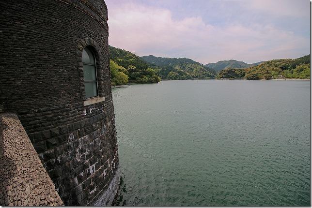 河内貯水池の景色