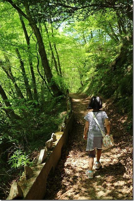 三段峡を散策