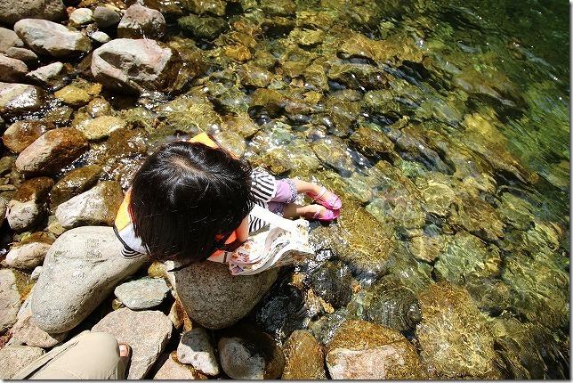 三段峡の水