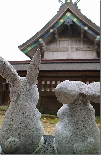 出雲大社 因幡の白兎