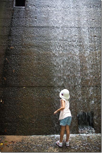 油山市民の森のダム