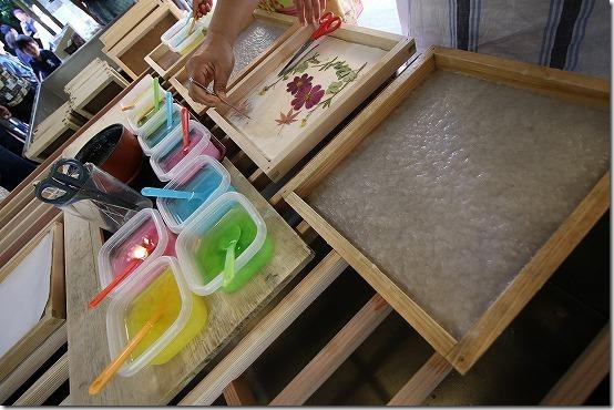和紙造り 色や絵柄