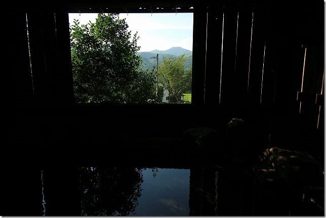 旅館 名山の半露天