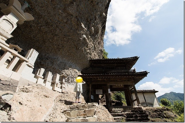 耶馬溪 羅漢寺の山門