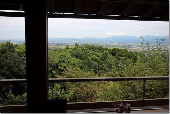 みのう山荘からの景色