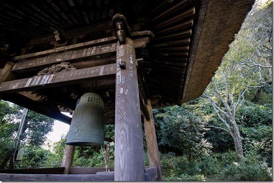 北鎌倉 東慶寺の鐘つき堂