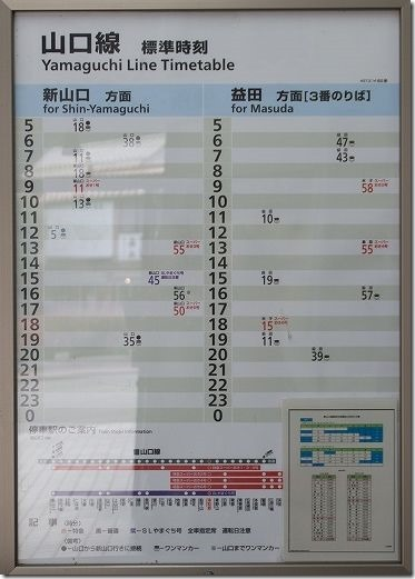 津和野 山口線 時刻表