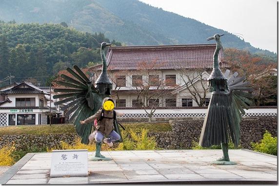 津和野の鷺舞(さぎまい)