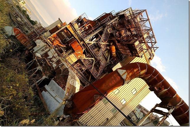 ブラタモリとナニコレ珍百景で紹介された池島炭鉱ツアー(発電所、猫)