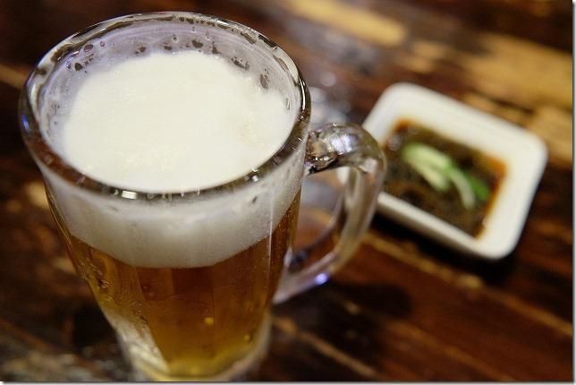 美栄橋 しぃーぶんでオリオンビール