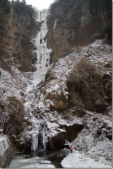 阿蘇 凍った滝 古閑の滝