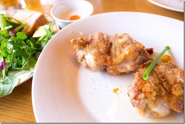 阿蘇駅 レストラン火星のランチ 選べるお肉 チキン