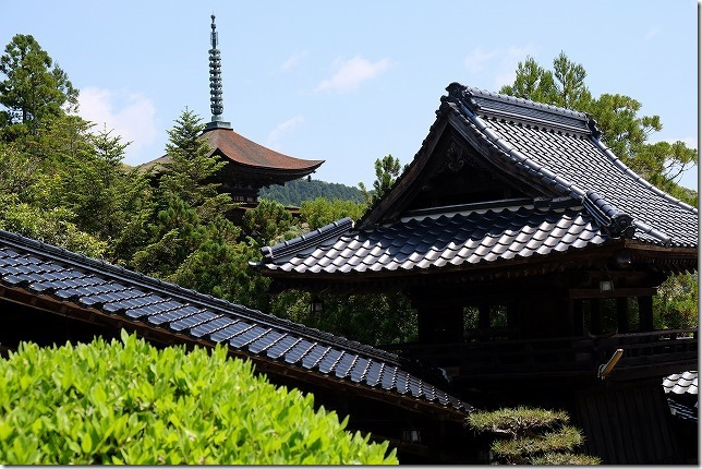 山口、瑠璃光寺の五重塔