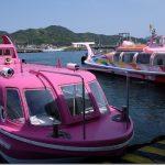 青海島を観光船で周遊(山口県・長門市)