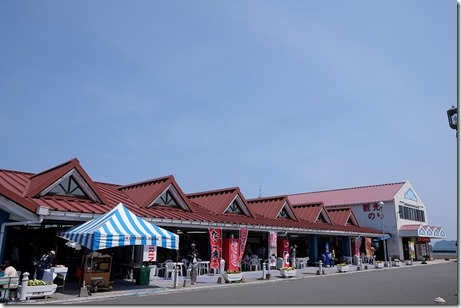 青海島観光船の乗り場