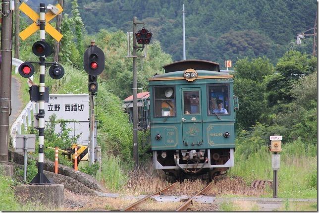 南阿蘇鉄道のトロッコ電車