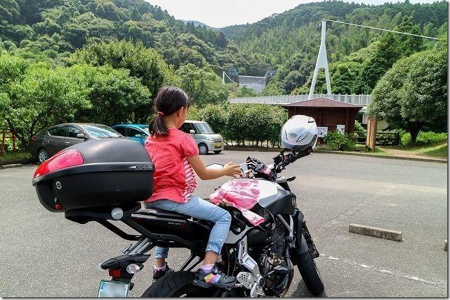 糸島の林道をテケテケMT07でツーリング(展望台・湧水)