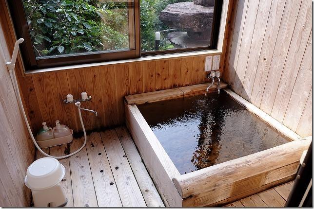 宇戸の庄の部屋付き温泉