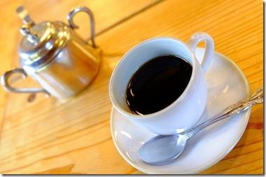 宇戸の庄の湧水コーヒー
