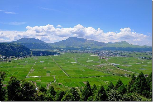震災後の阿蘇神社周辺を散策・食事(熊本県・阿蘇)