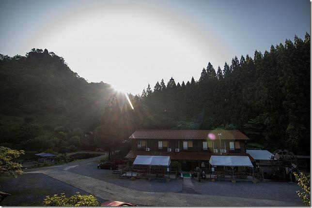 玖珠 宇戸の庄へ宿泊(離れの部屋・夕食)