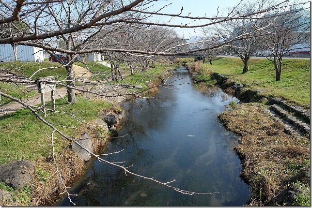 益城町の川