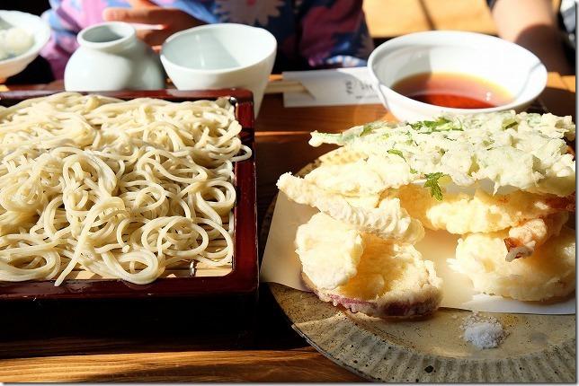 久木野で蕎麦と秋の阿蘇