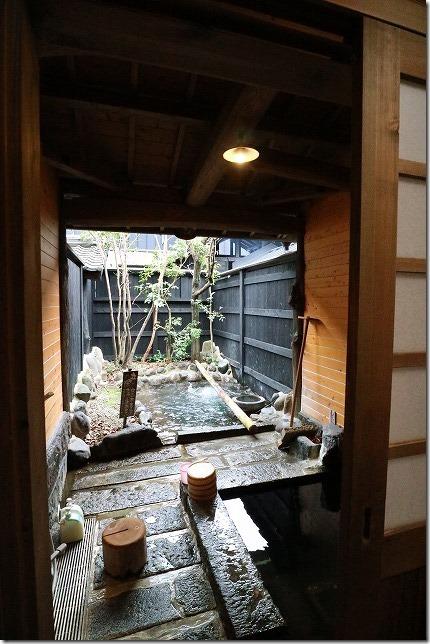 杖立温泉、米屋別荘の家族風呂