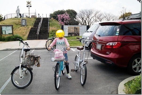 徐福サイクリングロードを昇開橋から自転車で