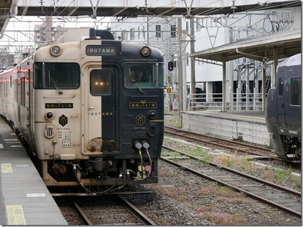 指宿のたまて箱で列車旅