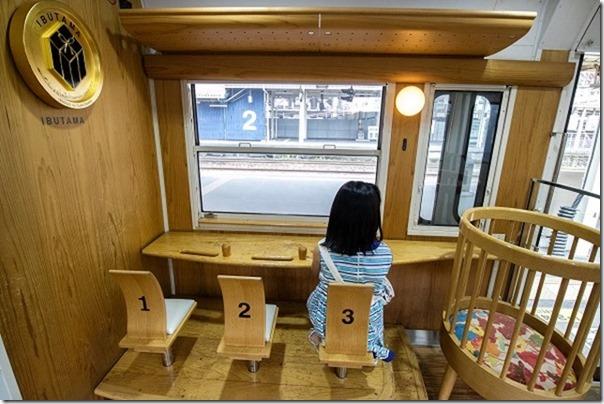 指宿のたまて箱の子供席