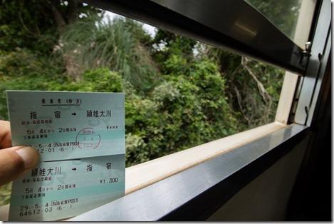 頴娃大川(えいおおかわ)への料金