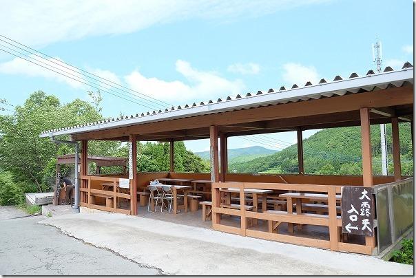 豊礼の湯(ほうれいのゆ)の休憩所