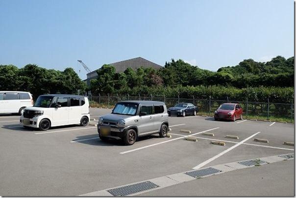 篠栗九大の森の北口駐車場