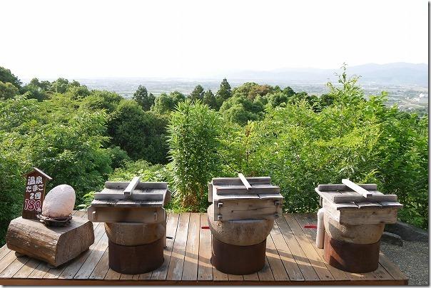 みのう山荘の蒸気窯