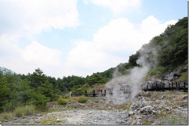筋湯温泉から小松地獄