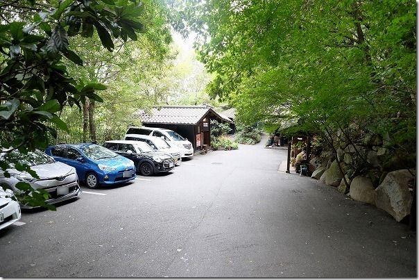 鳥栖、山ぼうしの駐車場