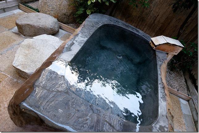 平山温泉、家族風呂、湯の川の露天