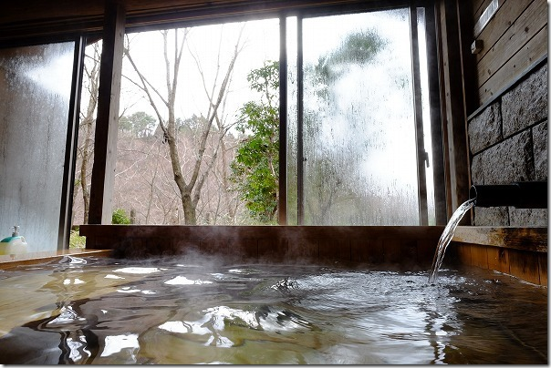 守護陣温泉の家族風呂