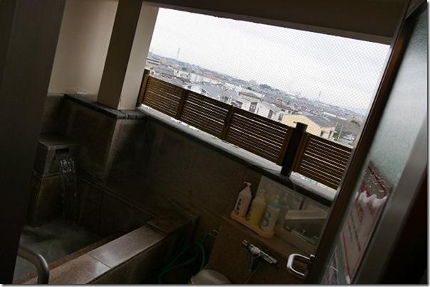 ホテルグランパスアベニューの家族風呂、半露天