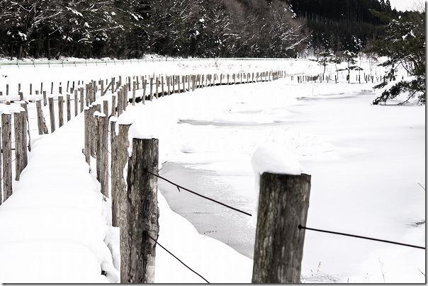 雪と氷の樫原湿原(かしばるしつげん)