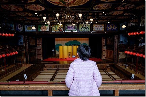 山鹿温泉、八千代座を見学3
